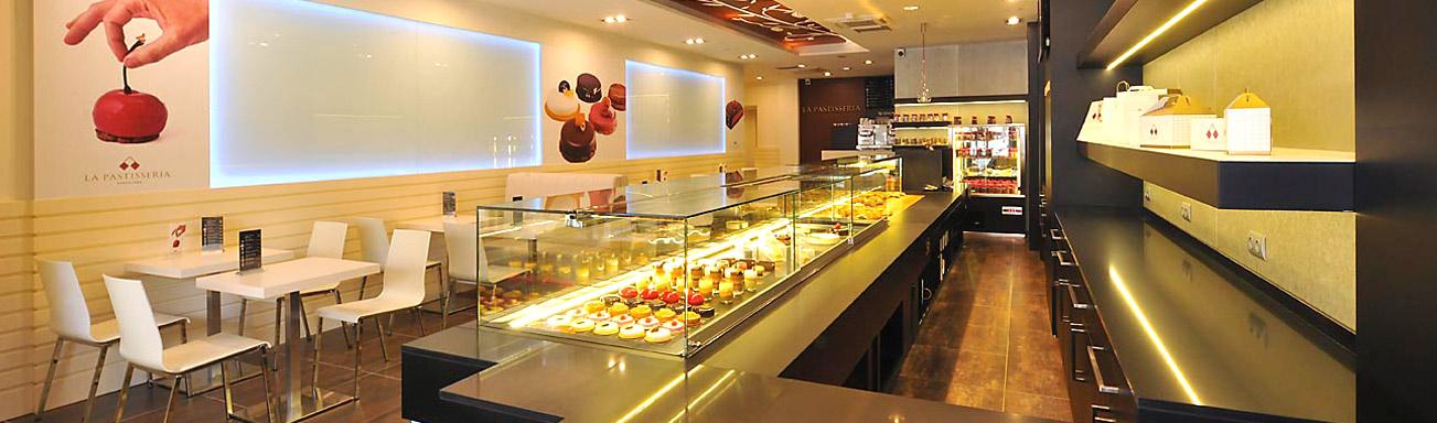 Dise o y decoracion de pastelerias empresa pastpan for Diseno y decoracion
